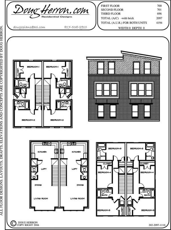 10 bedrooms, 9 bathrooms house plan