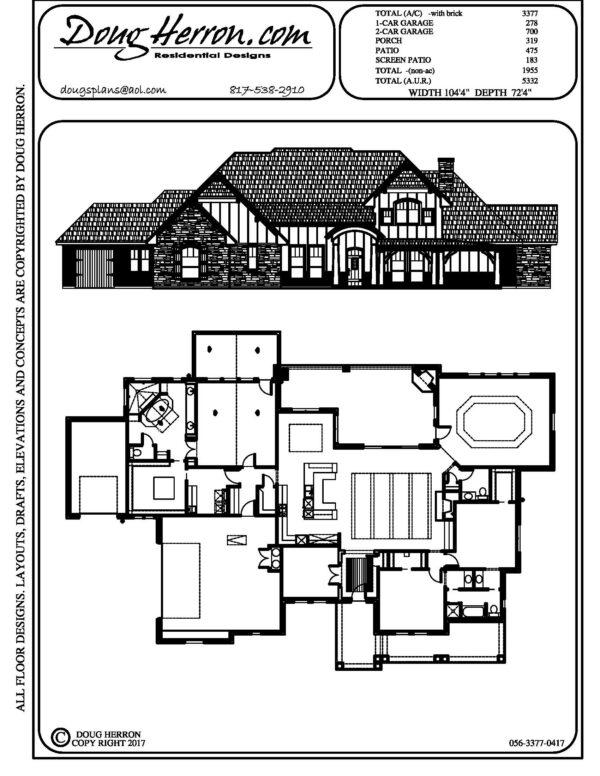 1893 bedrooms, 325 bathrooms house plan