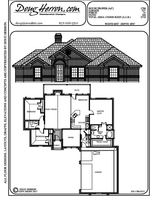 1893 bedrooms, 14 bathrooms house plan