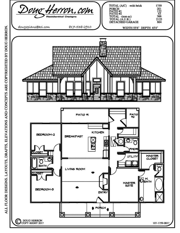 1893 bedrooms, 325 bathrooms house plan