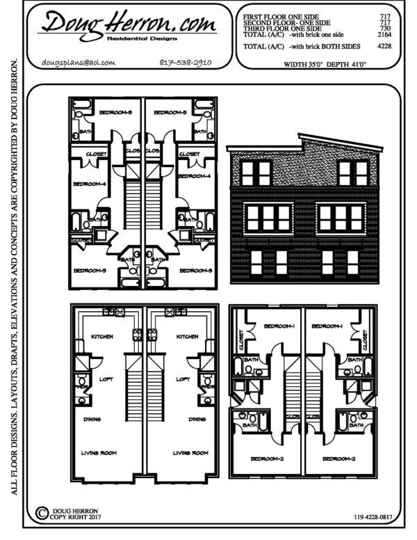 1830 bedrooms, 1848 bathrooms house plan