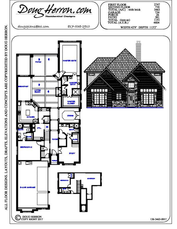 1896 bedrooms, 16 bathrooms house plan