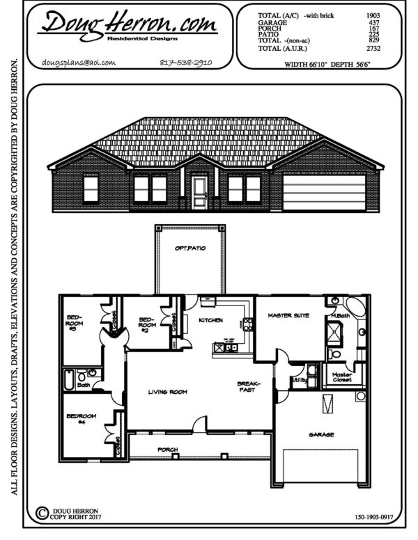 1896 bedrooms, 14 bathrooms house plan