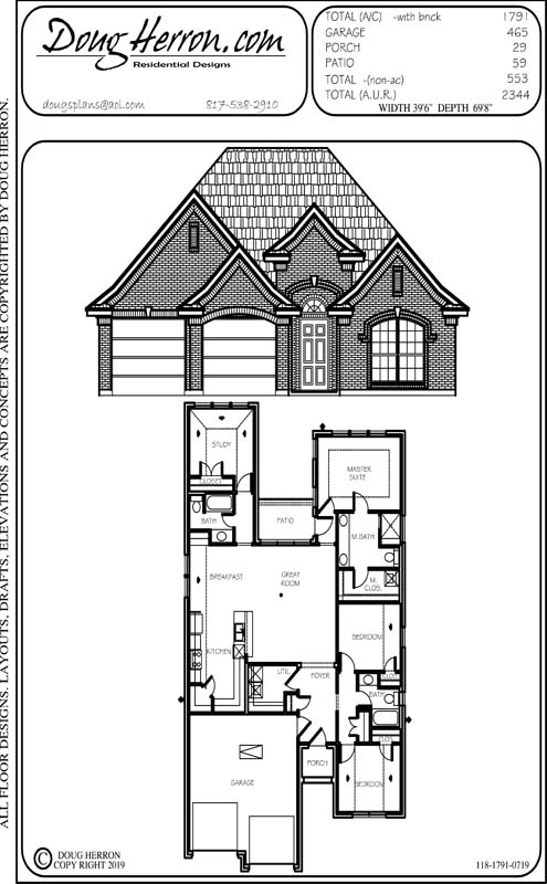 4 bedrooms, 15 bathrooms house plan
